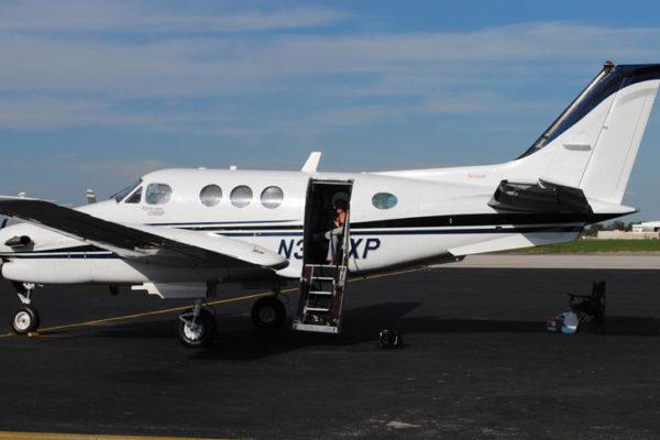 Beechcraft King Air C90B купить бу