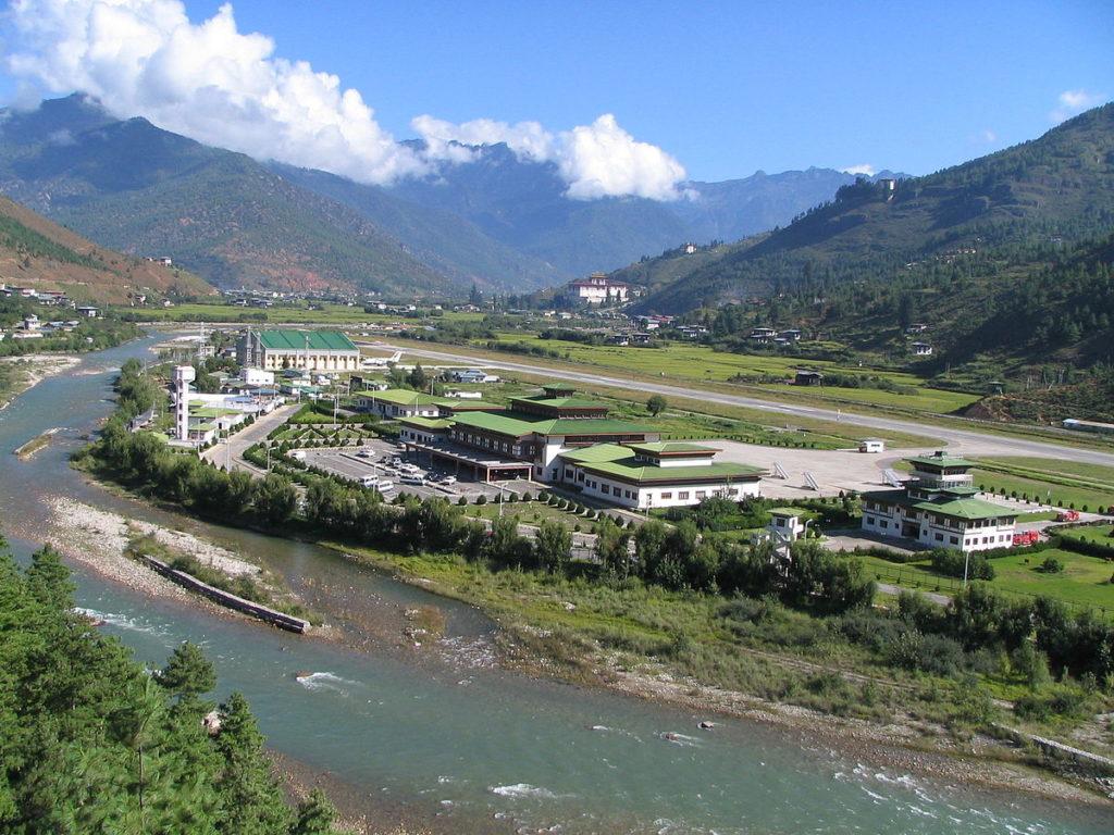 Аэропорты Бутан