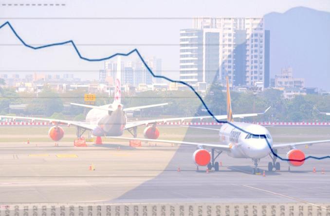 график снижения количества рейсов